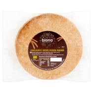 Mini Wholewheat Pizza Bases, Biona