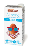 Organic Almond Natural Drink, Ecomil