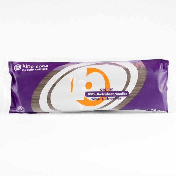 RIPE ORGANIC- King Soba, 100% Buckwheat Noodles Available in Dubai and abu Dhabi, UAE.