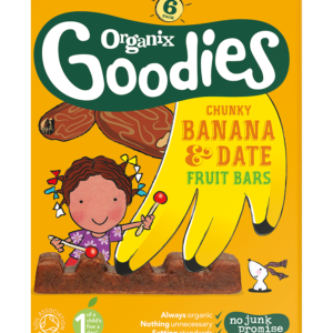 Ripe Organic Baby food- Banana and Date Fruit Bars, Organix