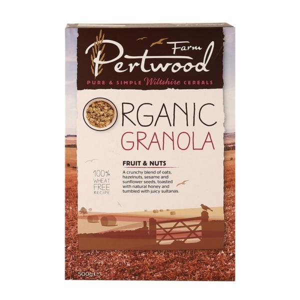 Ripe Organic-Organic Granola Fruit and Nuts-Pertwood Farm