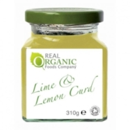 Lime and Lemon Curd, Real Organic