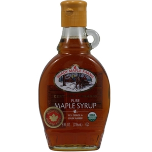 RIPE ORGANIC-SHADY MAPLE FARMS ORGANIC MAPLE SYRUP