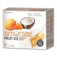 Coconut and Mango Fruit Ice, Smooze