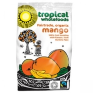 Organic Sundried Mango, Tropical Wholefoods