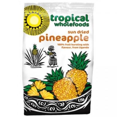 RIPE ORGANIC- Tropical Wholefoods Sundried Pineapple Available in Dubai and Abu Dhabi
