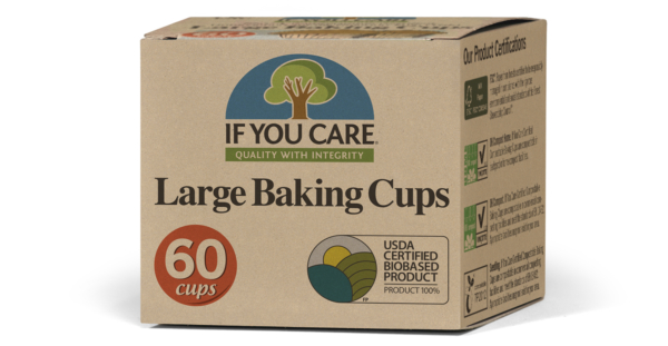 Ripe Organic - Unbleached Large Baking Cups
