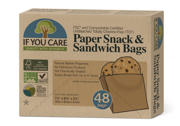 Ripe Organic Sandwich Bags, If you care