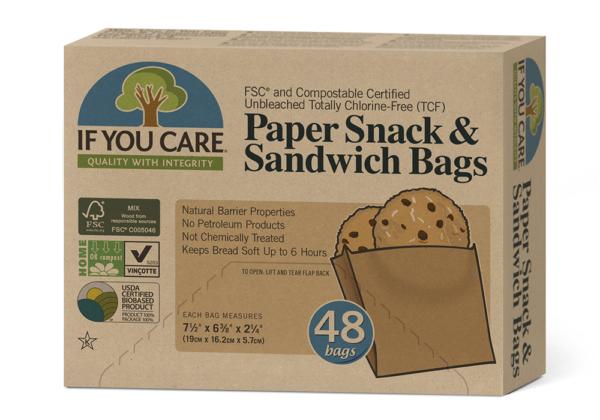 Ripe Organic Sandwich Bags, If you care
