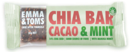 Chia Bar Cacao & Mint, Emma & Tom'S