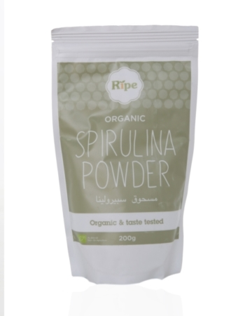 RIPE ORGANIC SUPERFOODS - SPIRULINA POWDER