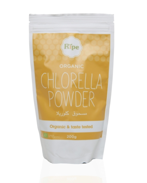 Ripe Organic - Chlorella Powder - Superfoods
