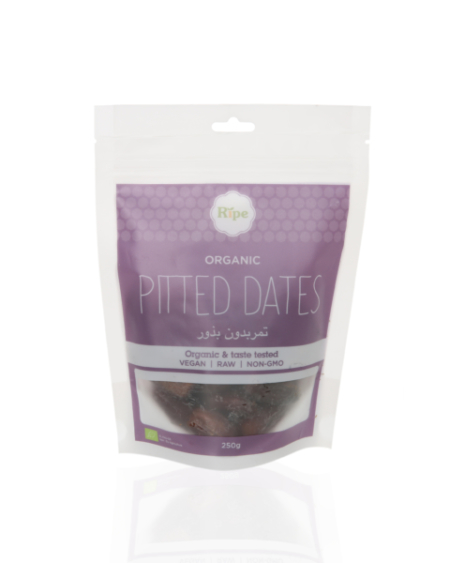 Ripe Organic Pitted Dates