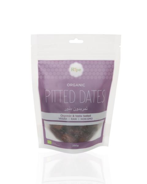 Ripe Organic Pitted Dates