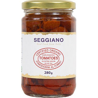 RIPE ORGANIC-SEGGIANO ORGANIC OVEN ROASTED TOMATOES