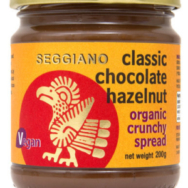 Crunchy Chocolate Hazelnut Spread, Seggiano