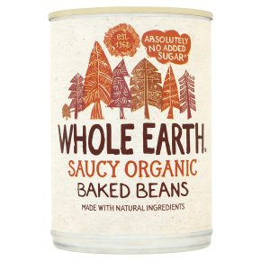 Organic Whole Baked Beans available at Ripe Organic