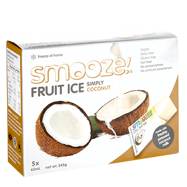 RIPE ORGANIC-SMOOZE SIMPLY COCONUT FRUIT ICE 5X65ML
