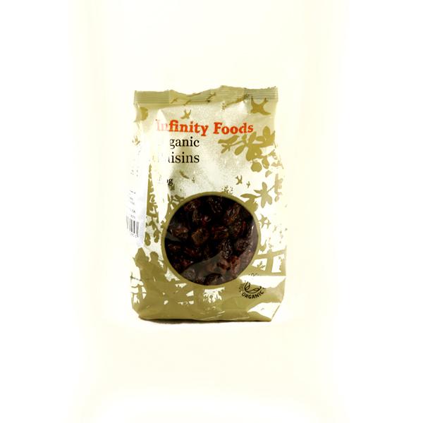 Ripe Organic Raisins, Infinity Foods
