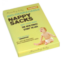 Biodegradable Nappy Sacks, Beaming Baby