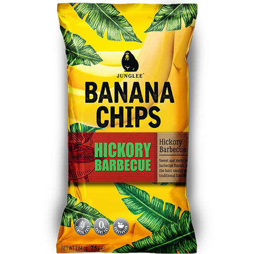 RIPE ORGANIC- Junglee Jack, Barbeque Banana Chips available in Dubai and Abu Dhabi, UAE