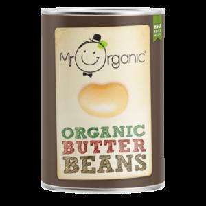 Ripe Organic Butter Beans
