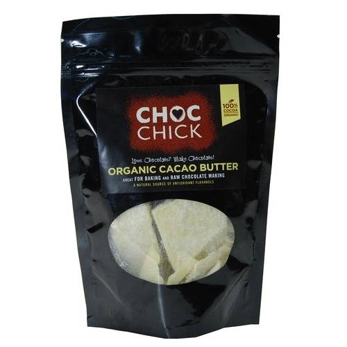 Organic Cacao Butter from Choc Chick available at Ripe Organic