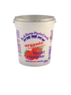 Organic Strawberry Yogurt, B.D. Farm Paris Creek