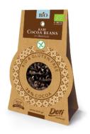 Organic Cocoa Beans in Chocolate, Doti