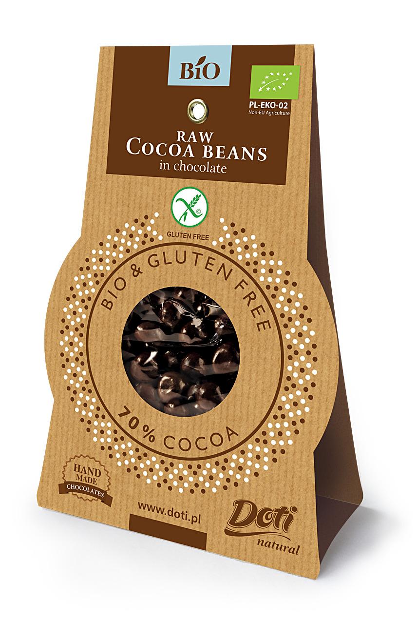 Ripe Organic Cocoa Beans, organic gluten free snacks