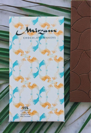 Ripe Organic Camel Milk Chocolates from Mirzam