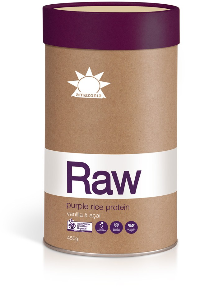 Ripe Organic - Amazonia Raw Purple Rice Protein
