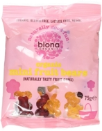 Mini Fruit Bears, Biona Organic