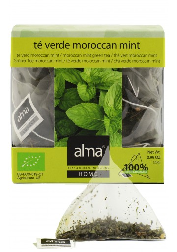 Ripe Organic - Green Tea - Moroccan Mint