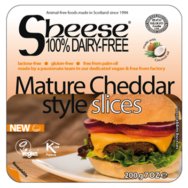 Dairy Free Cheddar Slices, Sheese