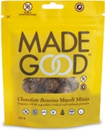 Chocolate Banana Muesli Mini Pouch, Madegood