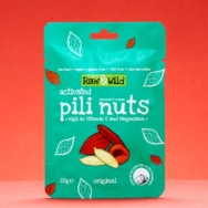 Original Pili Nuts, Raw & Wild, 22g