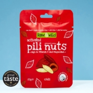 Chili Pili Nuts, Raw & Wild, 22g