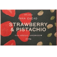 Organic Strawberry Pistachio Chocolate, Pana Chocolate