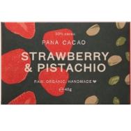Organic Strawberry Pistachio Chocolate, Pana Chocolate