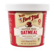Apple Cinnamon Oatmeal Cup, Bob's Red Mill