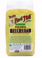 Organic Polenta Corn Grits, Bob's Red Mill