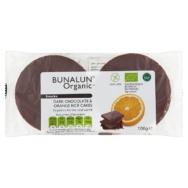 Dark Chocolate Orange Rice Cakes, Bunalun