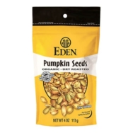 Organic dry roast Pumpkin Seeds, Eden