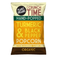 Turmeric & Black Pepper Popcorn, Planet Organic