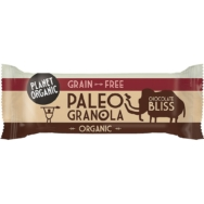 Chocolate Bliss Paleo Granola Bar, Planet Organic