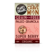 Paleo Granola Super Berry Bar, Planet Organic