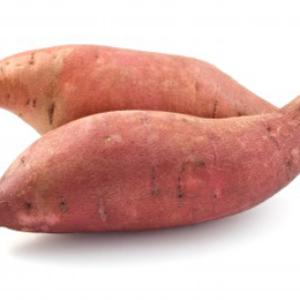 Ripe Organic Sweet Potatoes