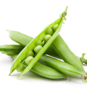 Ripe Organic Green Peas Fresh