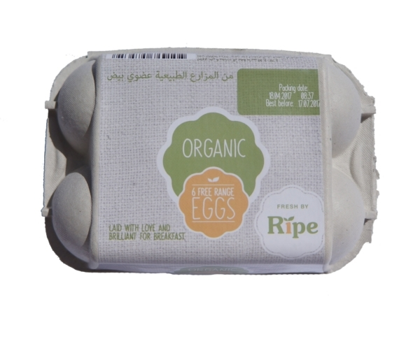 Organics Eggs Available at Ripe Organic Shops
